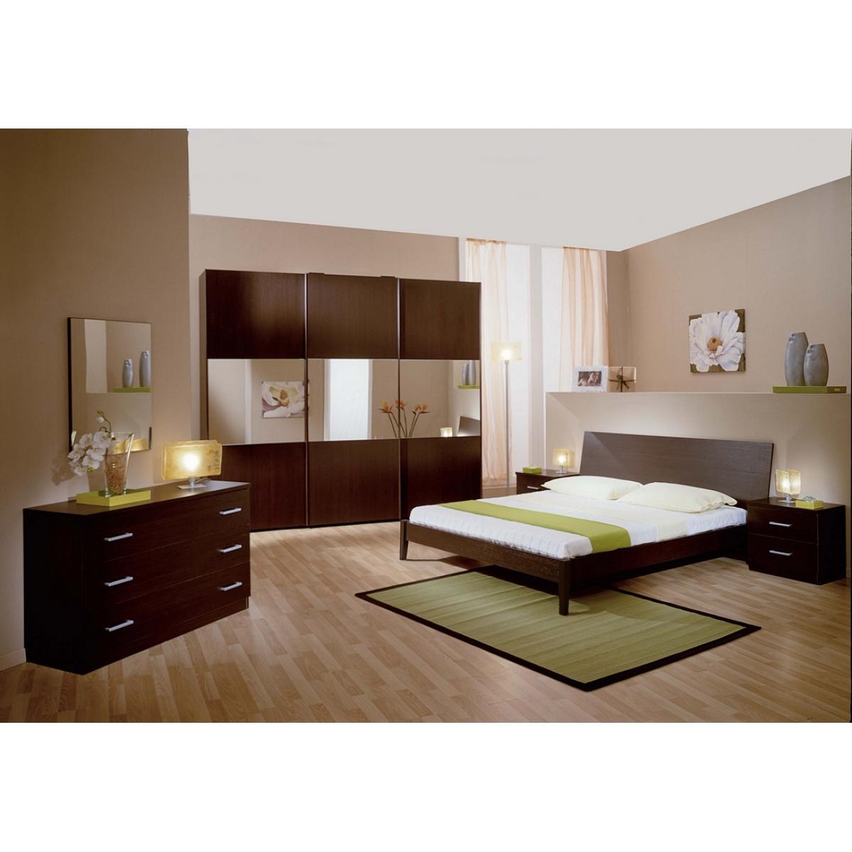 Camera da letto in ciliegio come pitturare le pareti - Come pitturare una camera da letto ...