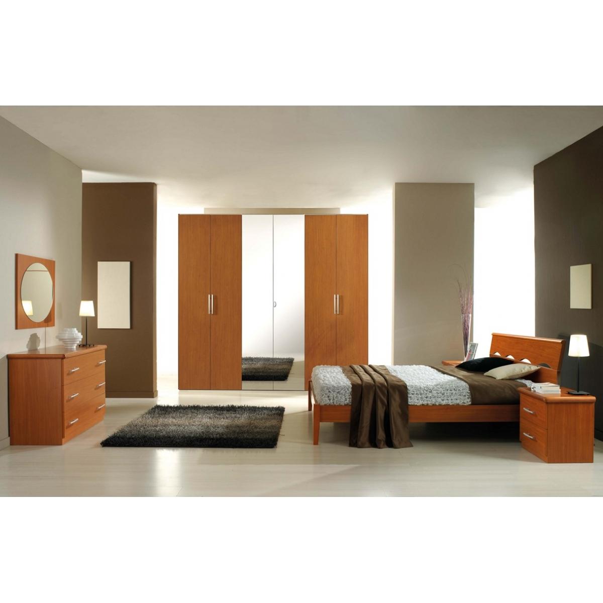 Camere Da Letto Moderne In Ciliegio.831 Camera Da Letto Ciliegio