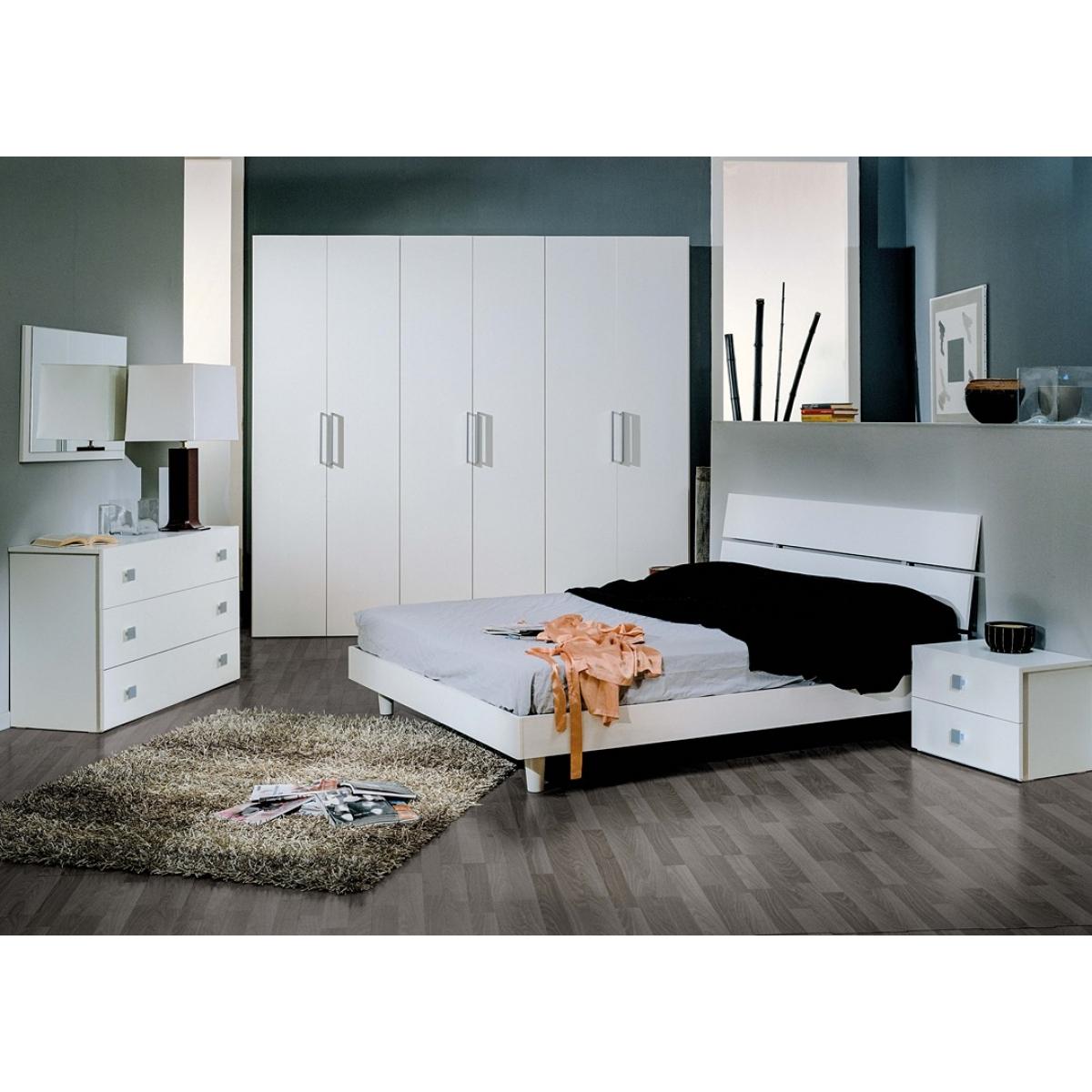 834 camera da letto completa moderna - Camera da letto completa ...
