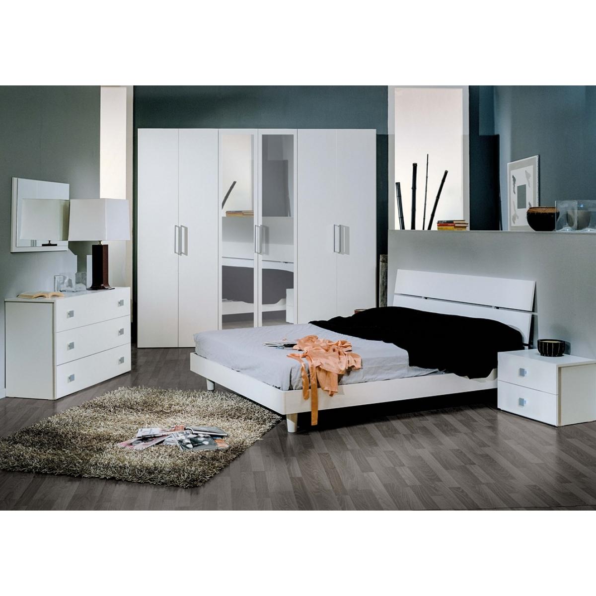 835 camera da letto completa moderna - Camera da letto completa ...