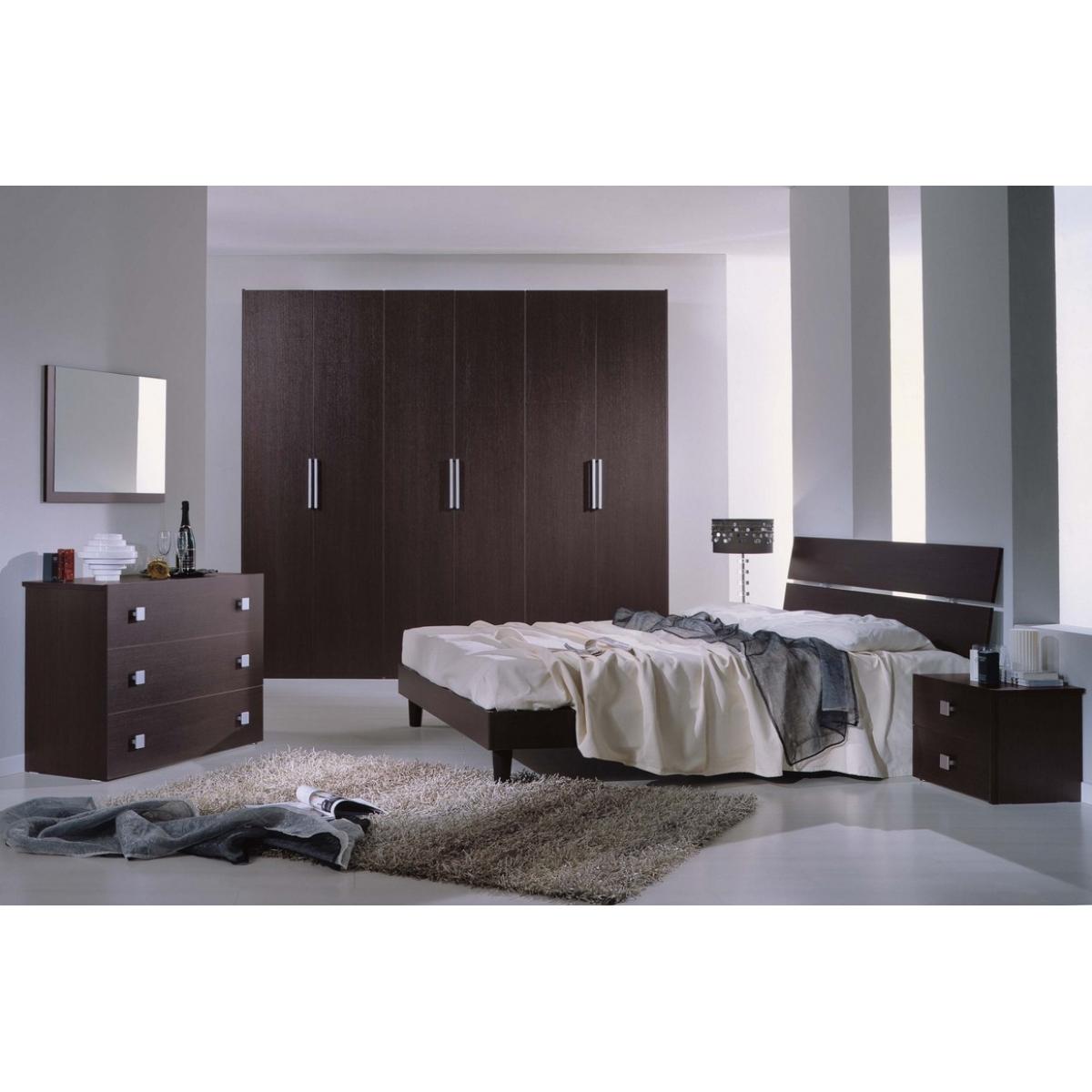 840 camera da letto moderna wenge 39 - Camera da letto a ponte moderna ...