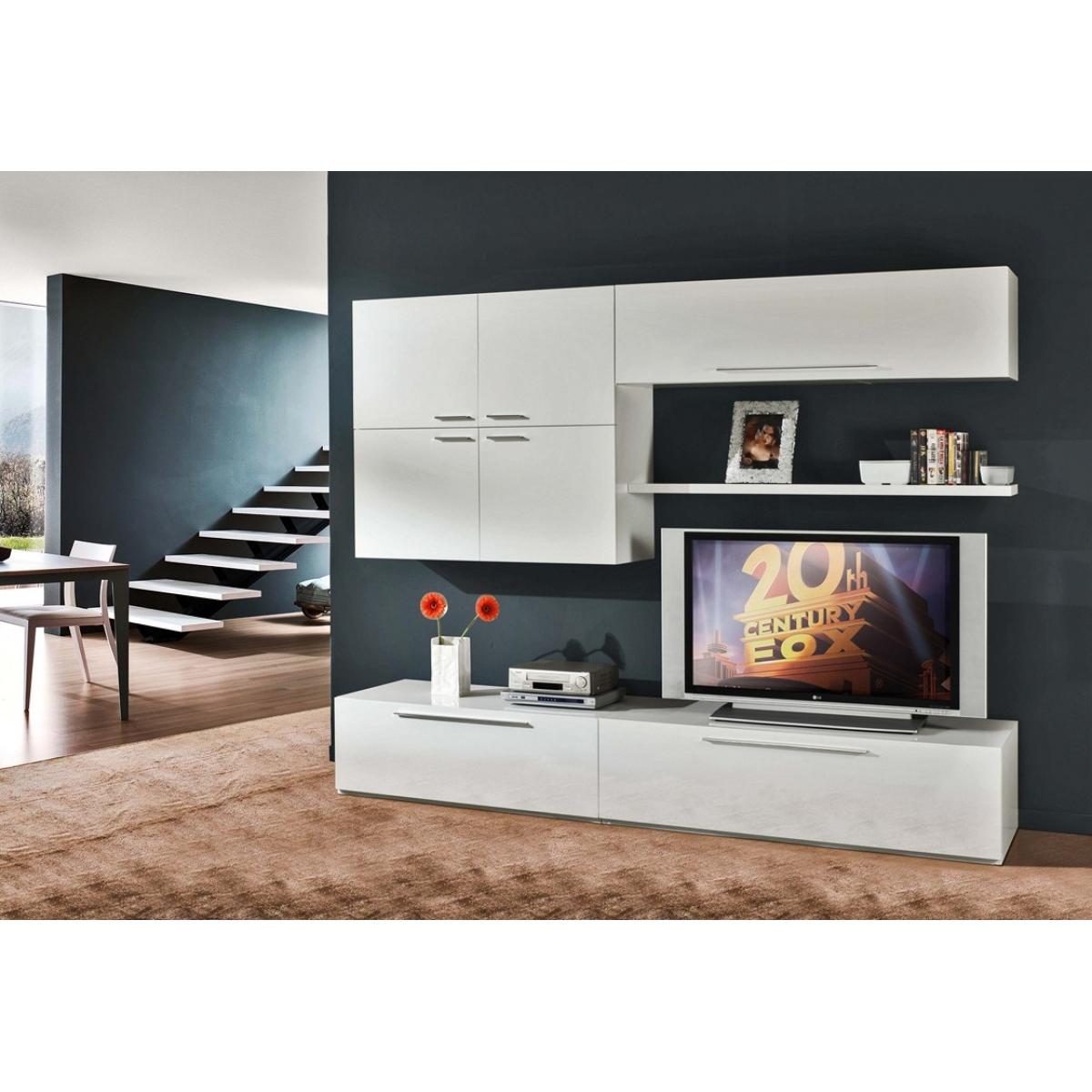 Soggiorno Bianco Laccato ~ Idee per il design della casa