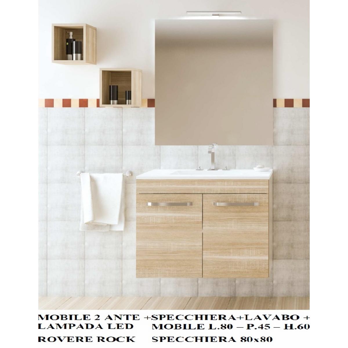 098 mobile arredamento bagno completo - Mobile Arredo Bagno Completo