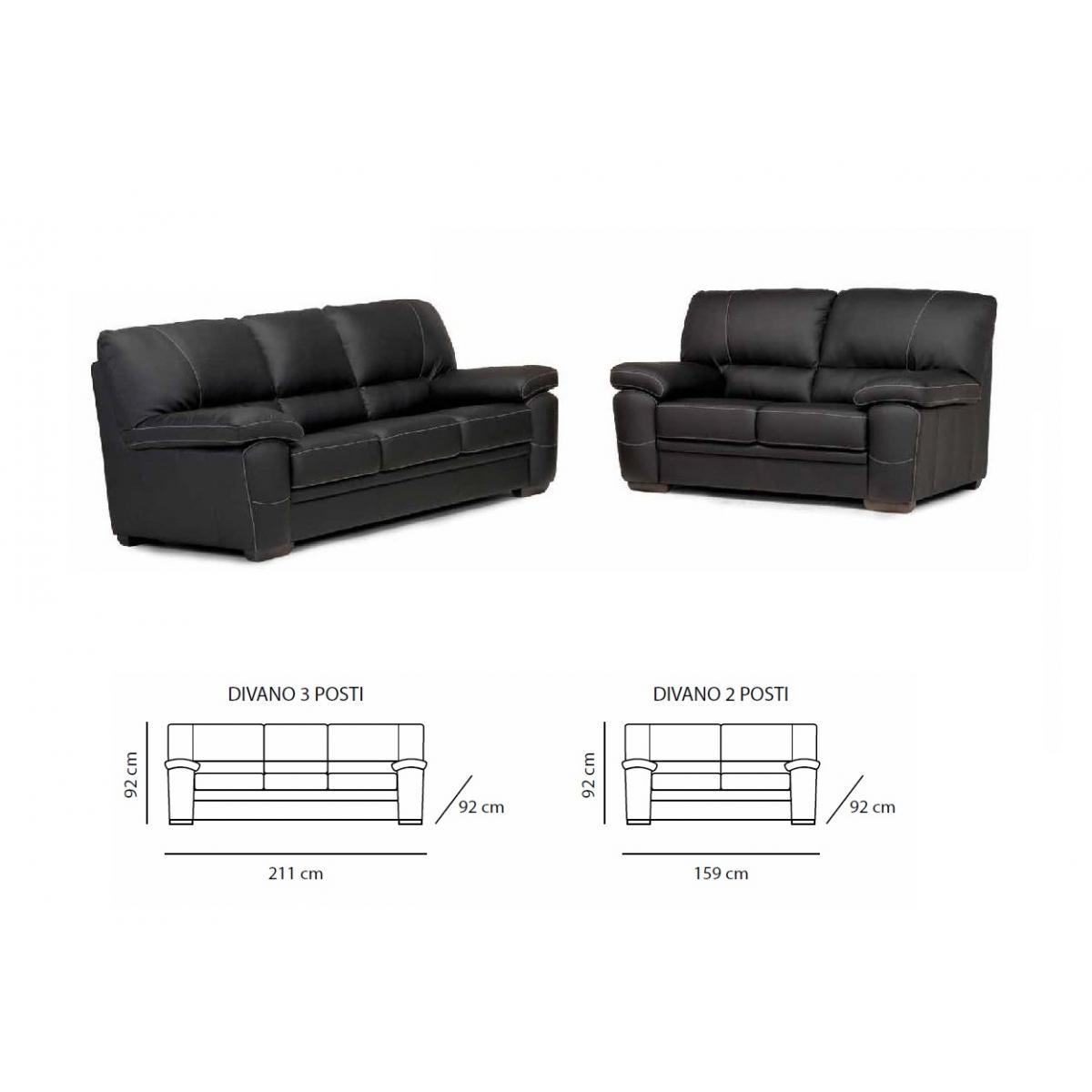 499 composizione divano 3 posti 2 posti - Divano 3 posti divano 2 posti ...