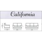 Divani-California 3+2P ecopelle