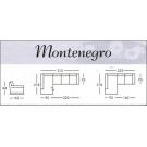 Divani-Montenegro 3P+CL / 2P+CL ecopelle